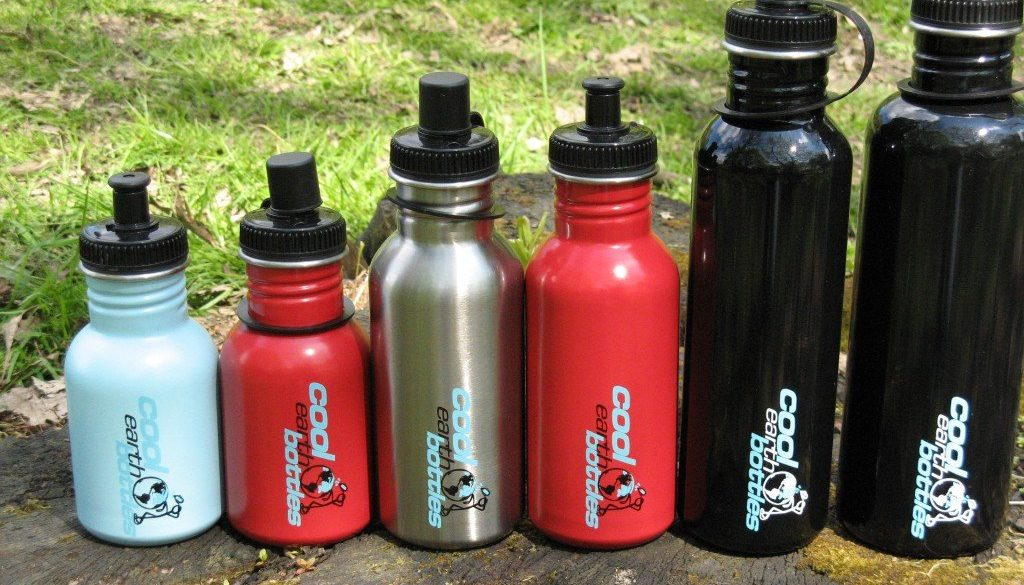 Cool earth bottles range