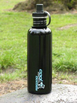 1000ml Stainless Steel Bottle - Black