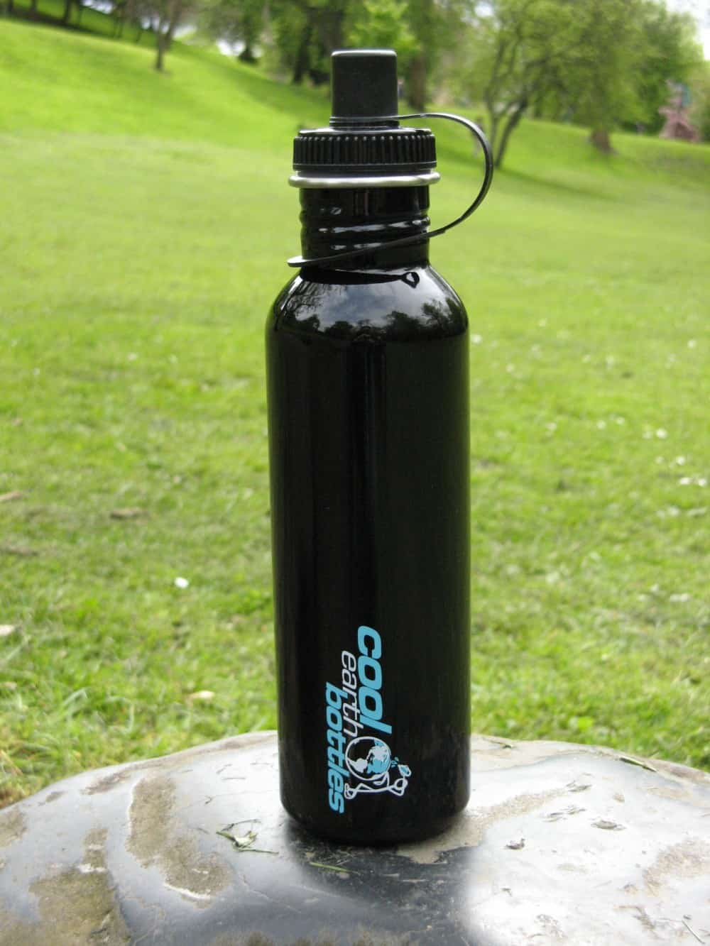 800ml Stainless Steel Bottle – Black