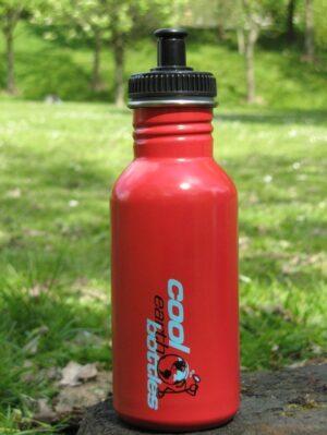 Steel Water Bottle 500ml Red