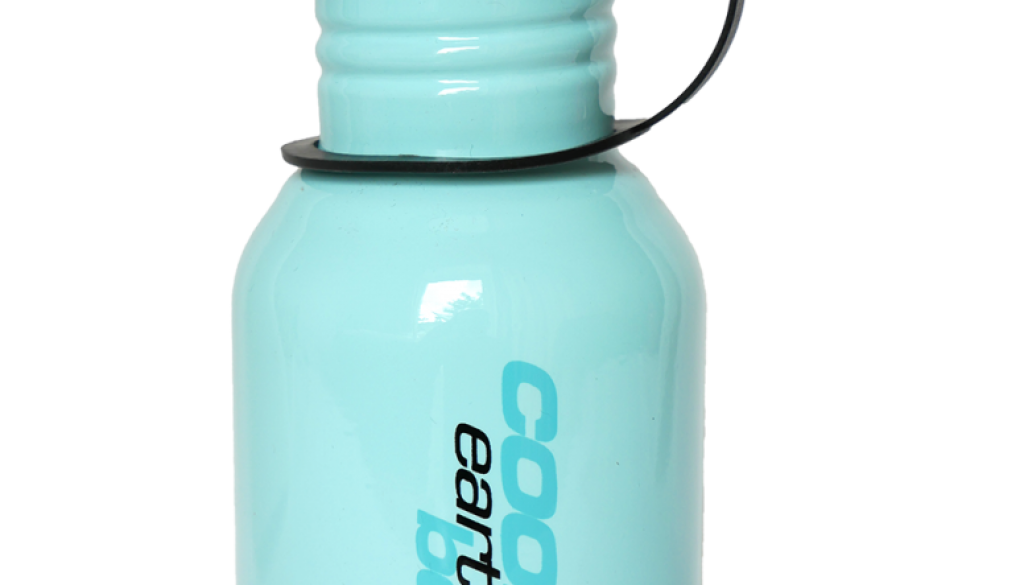 water bottle blue 350ml stainless steel sports bottle